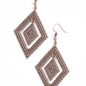 💍 5 for $25 sale! 💍 Copper Earrings